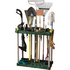 Rubbermaid Garden Tool Rack by Garage And Storage On Garden Tools Tool