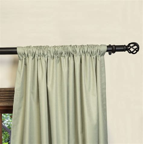 curtain rods for blackout curtains blackout curtain rod home design ideas