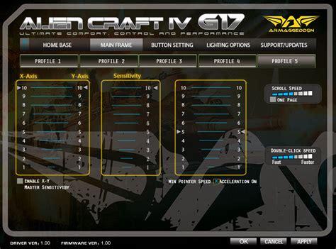 Armaggeddon 17 H Gaming Mousepad armaggeddon craft iv g17 mouse review techwarelabs part 4