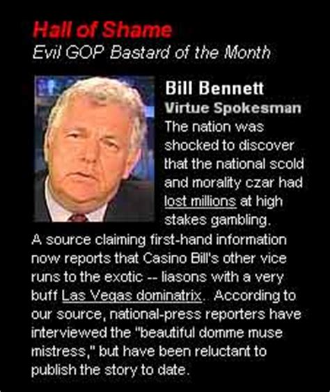 leadership of shame pleading ignorance of the after harming another in reprisal is no excuse books 2004 evil gop bastards of the month