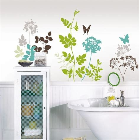 bathroom wall art stickers 10 fun family bathroom ideas 187 curbly diy design decor