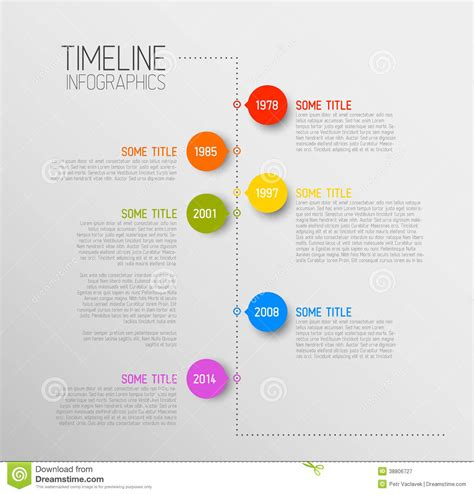 timeline infographic template free infographic stock photo file page 1 newdesignfile