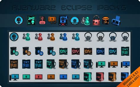 eclipse theme pack alienware eclipse ipacks mr blade designs