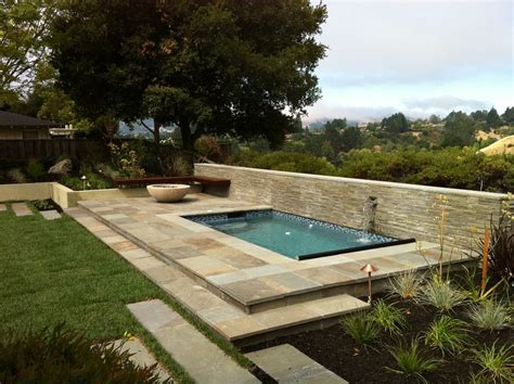 small built in pools small inground pools pool traditional with bluestone