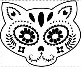 day of the dead skull template best photos of day of the dead skull stencil day of the