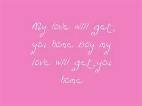 my will get you home with lyrics