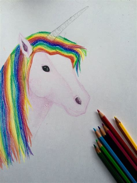color colorful draw drawing magic paint painting rainbow rainbowl unicorn