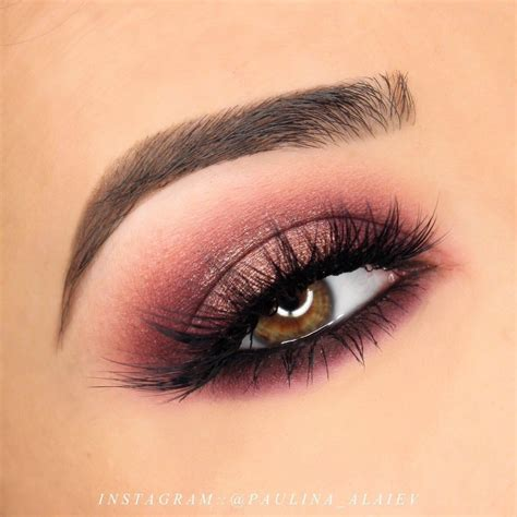 makeup eyeshadow cranberry halo smokey eye makeup tutorial pink