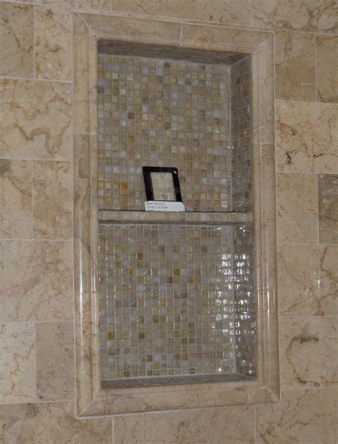 Ceramic Tile Shower Shelf by Ceramic Tile Shower Niche Interior Design Ideas