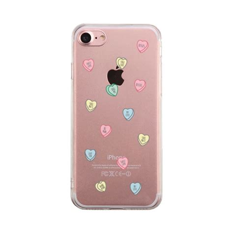 sweethearts candies phone case cute clear phonecase ebay