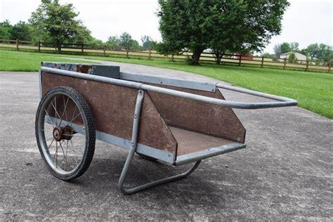Wooden Garden Cart by Wooden Quot Garden Way Quot Utility Cart Ebth