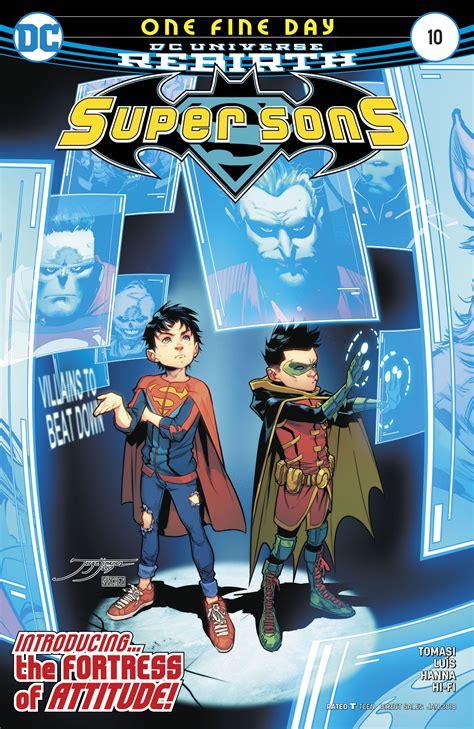 sons vol 1 when i grow up rebirth sons rebirth jorge jimenez fresh comics