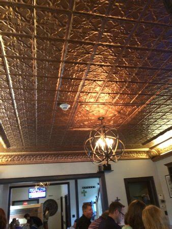 stilt house cedarburg copper ceiling picture of the stilt house cedarburg tripadvisor
