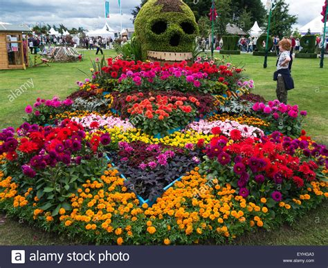 flower bed called the day of the dahlia by birmingham city