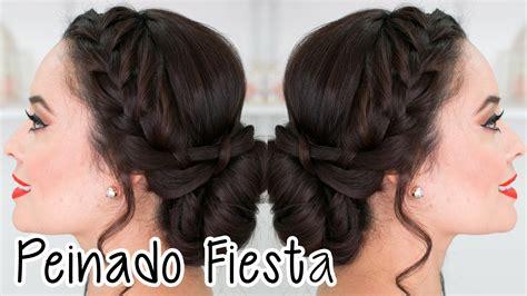 peinados para fiestas peinado para fiesta graduaci 211 n etc fabi ortiz youtube