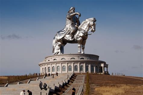 genghis khan equestrian statue wikipedia monvest aims to be first mongolian company to list on