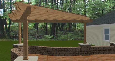 home designer pro pergola a bell shaped pergola in southwest fort wayne the icing