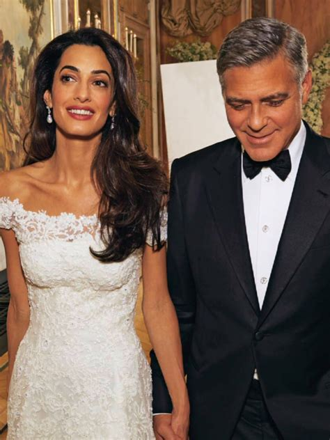 Amal Clooney in Chatila Jewellery for her wedding   Amal