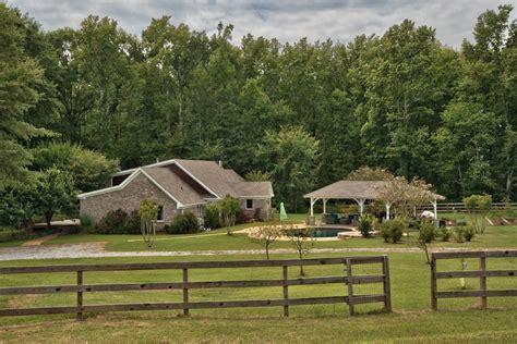 farmhouse ranch madison ga farm for sale pasture pond ranch home