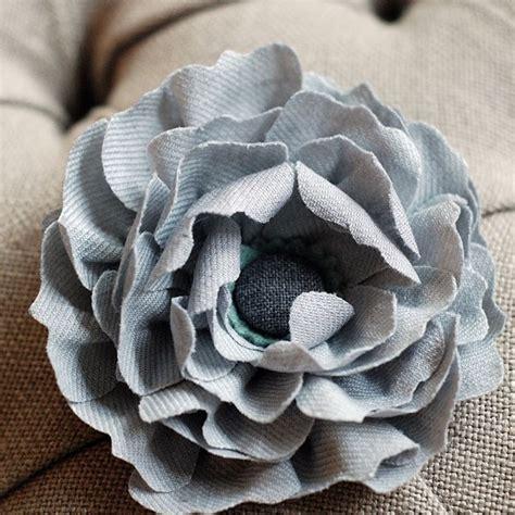 come creare fiori in stoffa come fare fiori di stoffa bricolage fiori di stoffa