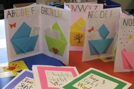 sights books kindergarten playful bookbinding and paper works