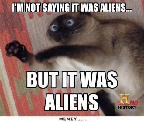 It Was Aliens Meme - alien quotes like success