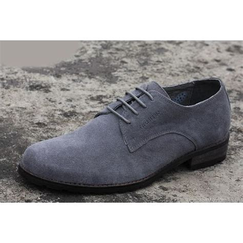 mens gray oxford shoes best gray grey leather lace up wedding prom dress