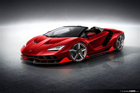 How Is Lamborghini This Is What The Lamborghini Centenario Roadster Could