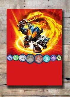 Fun For Kids On Pinterest Skylanders Invitation Templates And Bird Feeders Skylanders Birthday Invitations Template