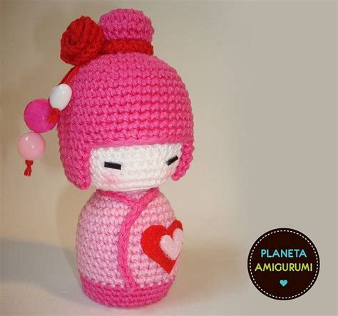 pattern for japanese doll 17 best images about crochet japanese dolls on