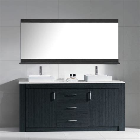 72 double vanity for bathroom 72 inch modern double sink bathroom vanity grey finish