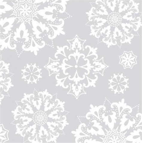 4 x paper napkins silver snowflakes buy online london