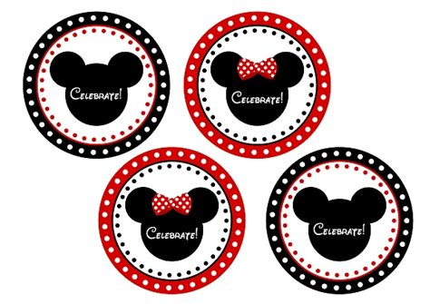 printable mickey mouse name tags free mickey minnie mouse birthday party printables from
