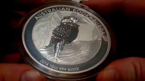 10 oz 2014 australian kookaburra silver coin 2014 australian kookaburra 10 oz silver coin