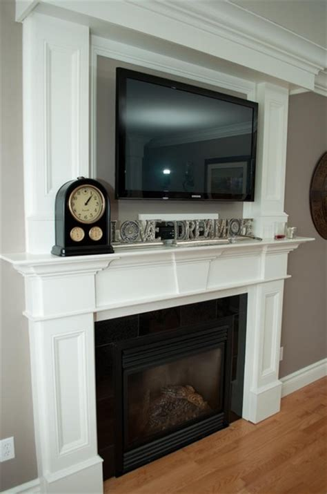 tv above fireplace heat pin by erica macias on everything for the home