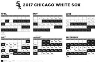 cubs home schedule 2017 mlb schedule cubs at cardinals white sox host