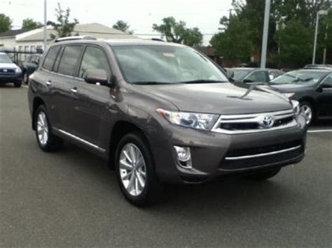 2012 Toyota Highlander Problems 2012 Toyota Highlander Hybrid Black 200 Interior And