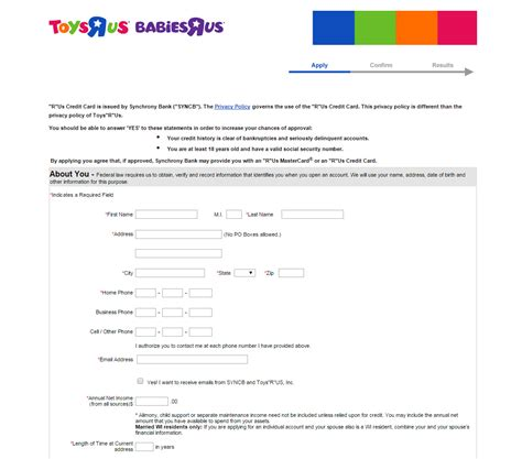 toys r us credit card make payment how to apply for a toys r us credit card