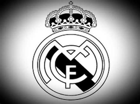 draw real madrid cf logo with corel draw tutorial corel طريقة رسم شعار ريال مدريد how to draw real madrid logo