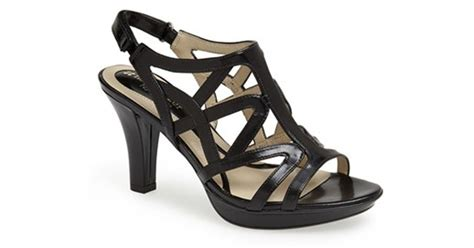 naturalizer danya sandal naturalizer danya sandal in black lyst