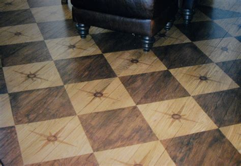 wood floor paint floors pattern interiors design painting floors small