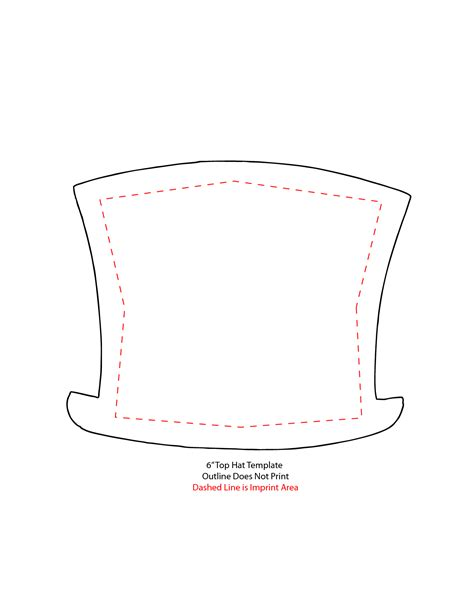 top hat template for 7 best images of printable top hat snowman top hat