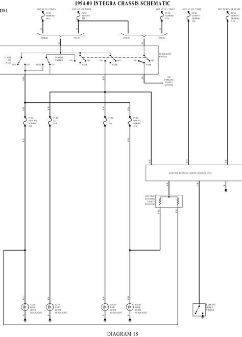 1994 acura integra wiring diagram 1994 free engine image