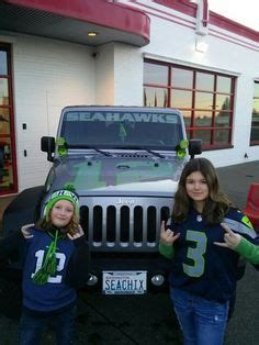 Seattle Jeep Club The Original Seattle Seahawks 12th Edition Jeep 2014