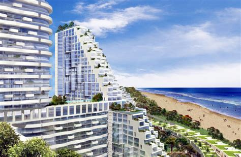 Can You Buy An Apartment moshe safdie designs pixelated sky garden residential