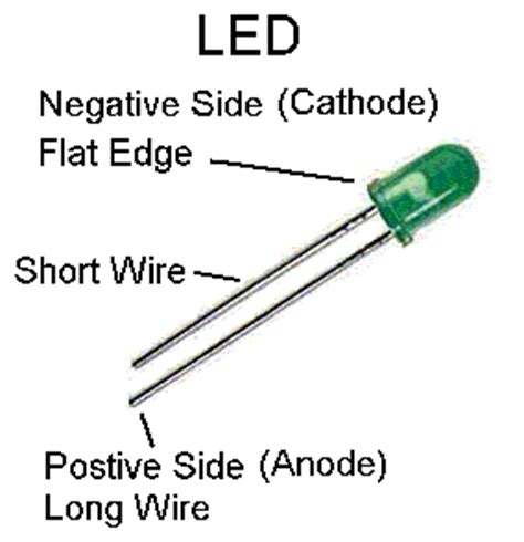 led anode cathode 2 rail o scale railroading with leds