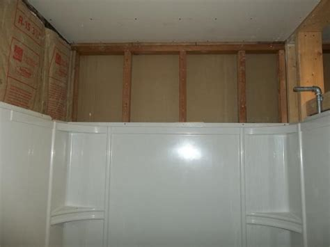 how to install drywall around a bathtub need help with installing sheetrock around tub surround
