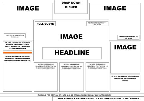 layout and design media studies double page spread layout related keywords double page