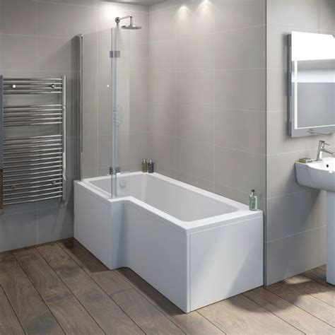 bathroom suites with shower baths l shaped shower baths plumb bathroom