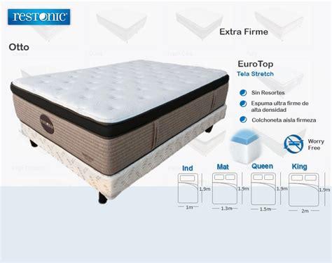 cama king size precios cama soporte firme colchon con box king size restonic